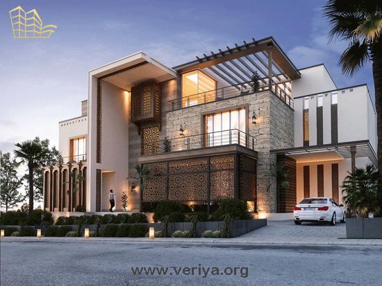 طراحي نماي ساختمان