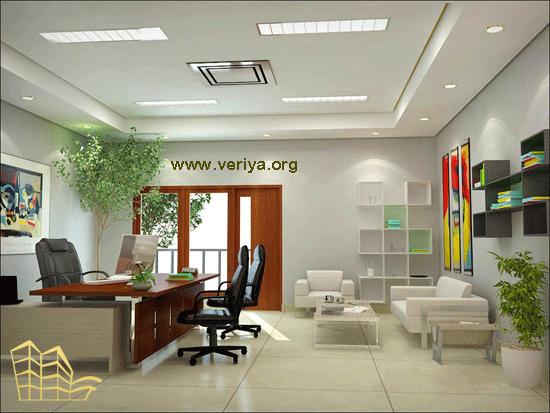 طراحی داخلی دفتر اداری