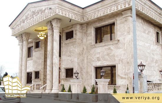 نمای سنگی برای ساختمان
