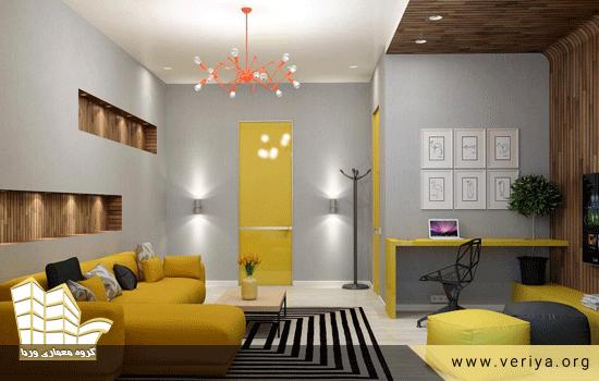 طراحي داخلي آپارتمان كوچك