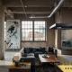 طراحی داخلی به سبک صنعتی