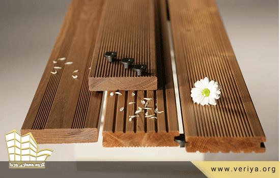 طراحی نما با چوب ترموود
