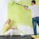 رنگ کردن دیوارها