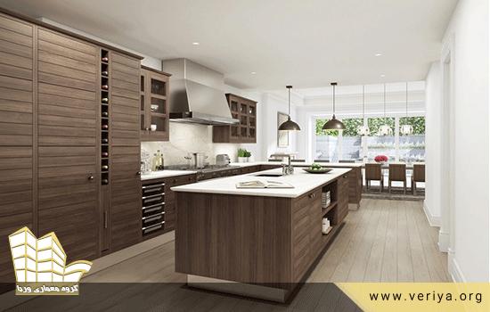 انواع روکش های مصنوعی کابینت آشپزخانه
