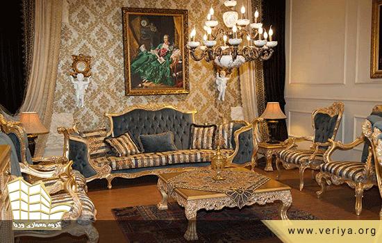 دکوراسیون منزل سلطنتی