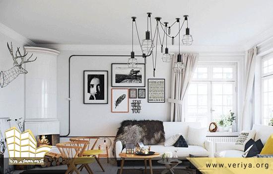 رنگ سفید در طراحی داخلی