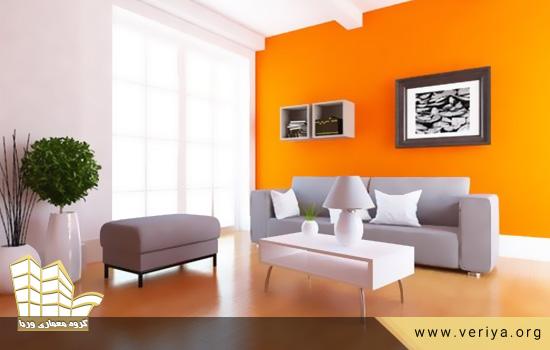 رنگ ها برای جذابیت بیشتر دکور خانه