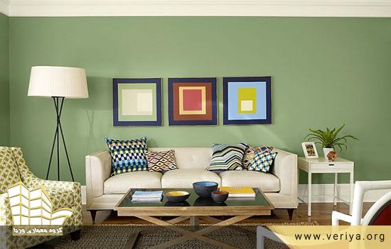 رنگ های مناسب برای اتاق نشیمن