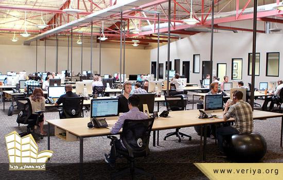 مزایای فضای کار باز (open office)