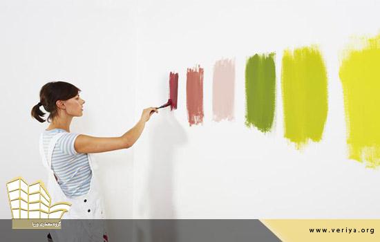 انتخاب رنگ برای دکوراسیون داخلی