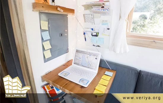 6 ایده جداب برای طراحی میز برای فضاهای کوچک