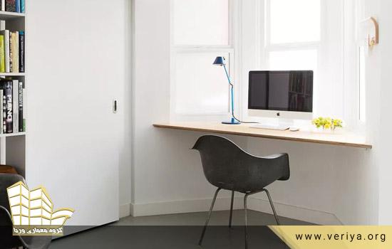 6 ایده برای ساختن میز برای فضاهای کوچک