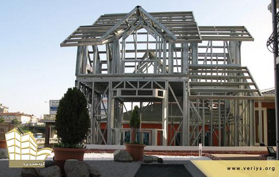 مزایای استفاده از اسکلت فلزی در ساختمان سازی