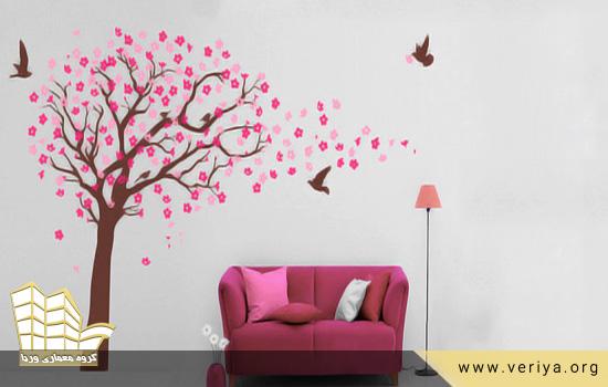 به دیوار خانه شما روح ببخشند