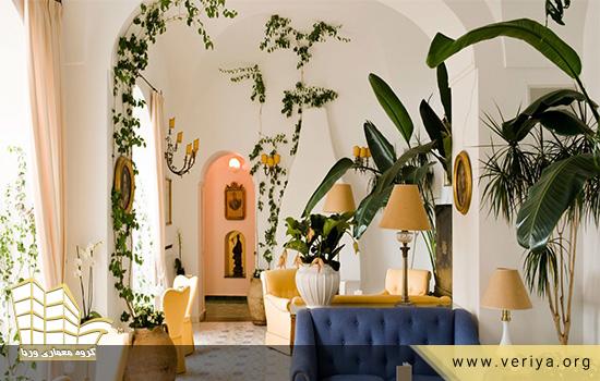 نقش گیاهان در طراحی داخلی