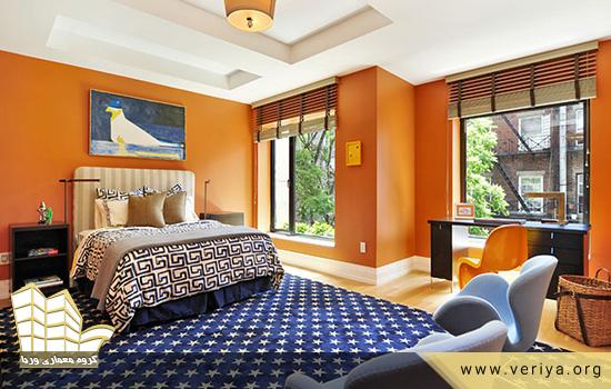 دکوراسیون اتاق خواب به کمک رنگهای روشن