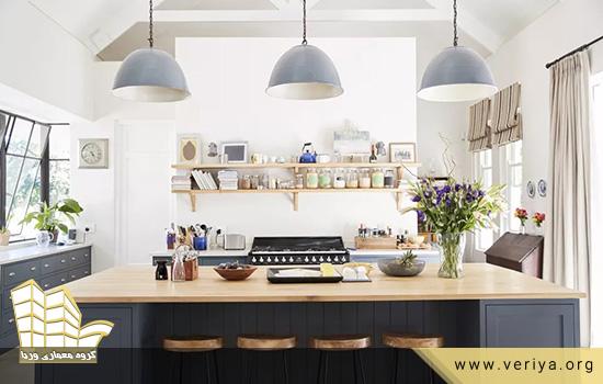 انتخاب بهترین نوع رنگ برای کابینت آشپزخانه