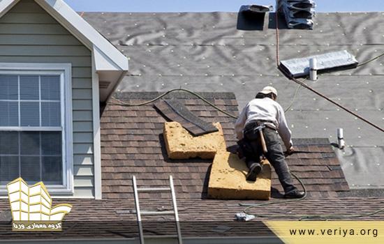 بازسازی سقف